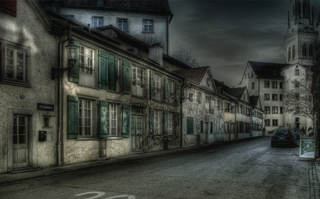 Dark Alley - Houses & Architecture Background Wallpapers ...