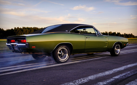 mighty charger - cars, charger, 1969, dodge