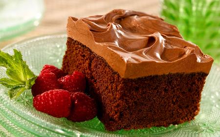 Cake - cream cake, chocolate, dessert, cream, chocolate cake, cake, strawberrys, birthday cake