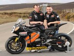 John McGuinness and Steve Plater