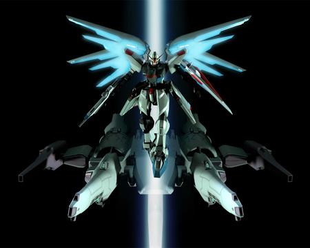 Freedom Meteor Gundam Seed Anime Background