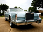 Old Lincoln Continental 1967