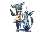 Glaceon & her Trainer