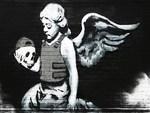 Banksy Cherub