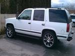 1996 white chevy tahoe