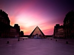 Sunset At Louvre