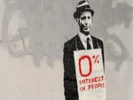 Banksy 0% Interest In People