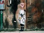 Banksy Diver Girl