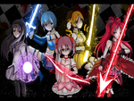 Puella Magi Girls