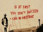 Banksy Airstrike