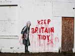 Banksy Keep Britain Tidy