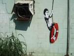 Banksy Tyre Swing