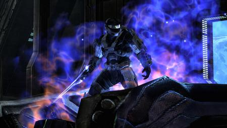 Forged By Fire - halo, fire, reach, halo reach, purple, forged, spartan, captain