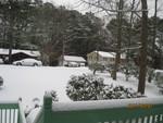 Snow in Hot Lanta!