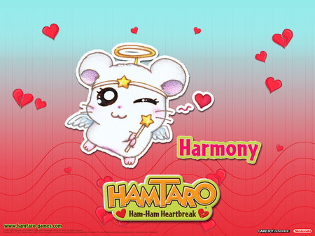 Hamtaro: Ham-Ham Heartbreak - Harmony (Not Mine) - hamtaro, harmony, hamtaro ham-ham heartbreak, love