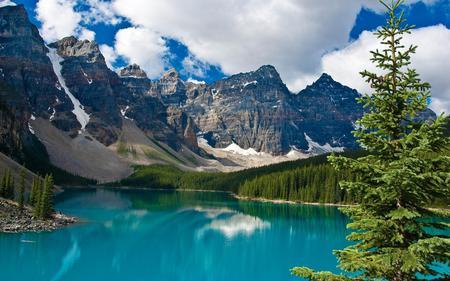 Mountain - lake, mountain, nature, trees