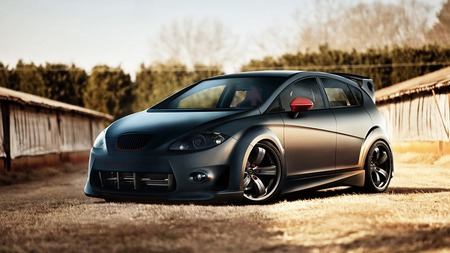 Seat Leon Tuned Other Cars Background Wallpapers On