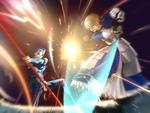 Saber vs Lancer