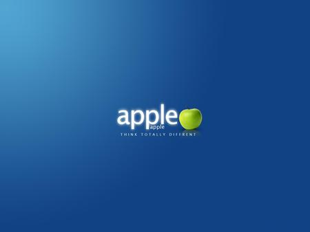 Apple Blue - apple blue