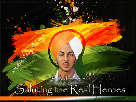 Bhagat Singh 3d And Cg Abstract Background Wallpapers On Desktop