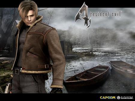 Leon Scott Kennedy Resident Evil Video Games Background