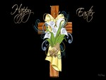 Decorative Easter Cross
