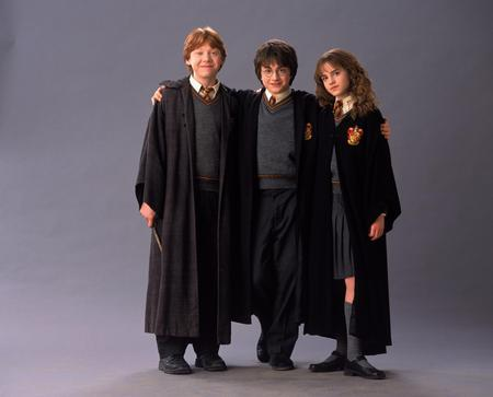 Harry, Rony, Hermione friendship - harry, hermione, rony, movies, kids