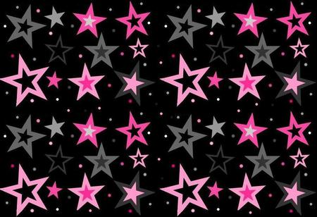 Light Pink Dark Pink And Gray Stars Other Amp Abstract