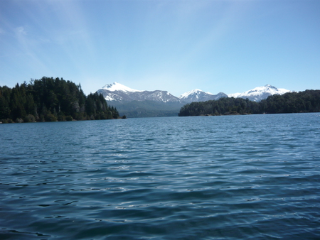 Lake in Bariloche Argentina - mountain, forest, beautifull, lake