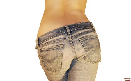 jeans - r, o, l, i, n