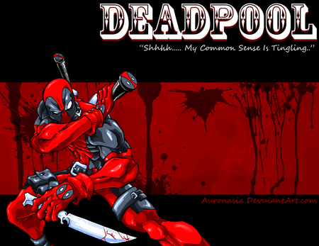 Deadpool's Common Sense - wade wilson, marvel, merc with a mouth, deadpool, mercenary