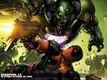 Deadpool Fights Skrulls