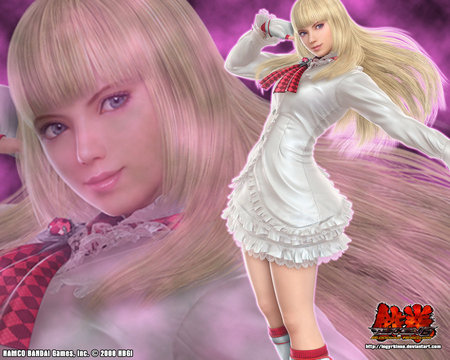 lili rochefort - tekken, sexy, lili rochefort, video games