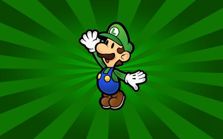 Paper Luigi Mario Video Games Background Wallpapers On Desktop