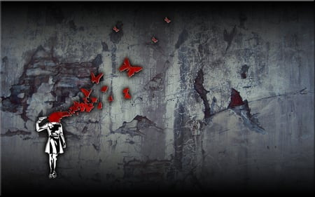 Butterfly Suicide Wallpaper Other Abstract Background