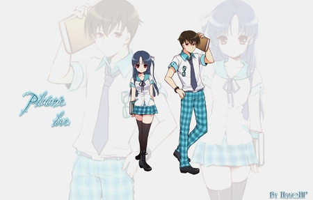 Platonic love - school, boys, walls, anime, life count, girls