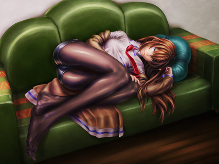 Pantyhose Girl anime