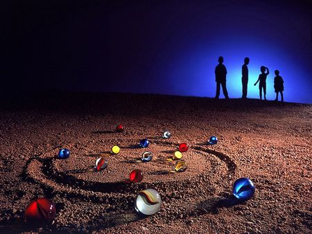 Marbles - games, boys, photography, children, game, marbles, abstract
