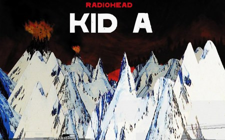 Radiohead Kid A - alternative, indie, radiohead, thom yorke, music, computer, kid a