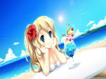 Beach with Mugi