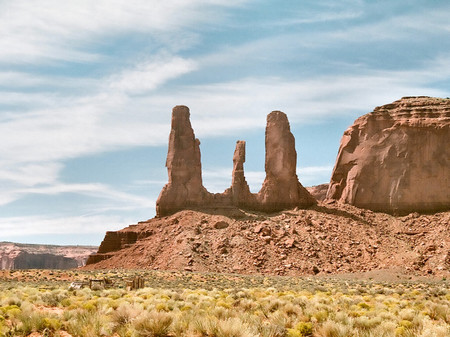 Monument Valley Navajo Reservation F2 Deserts Nature