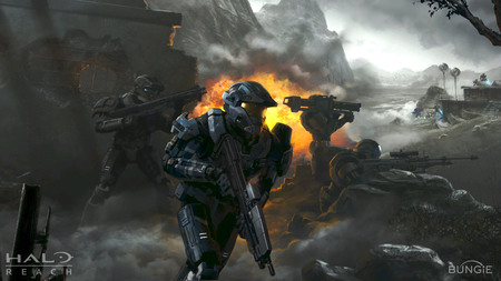 Firefight - halo, reach, bungie, noble