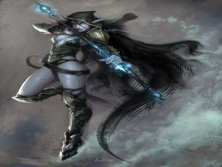 Dark Elf Warcraft Series Video Games Background Wallpapers On