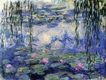 Monet water lillies