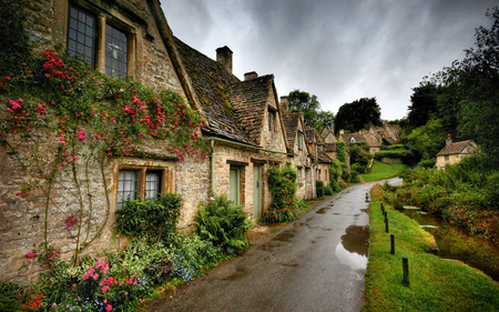 Old England Medieval Architecture Background Wallpapers