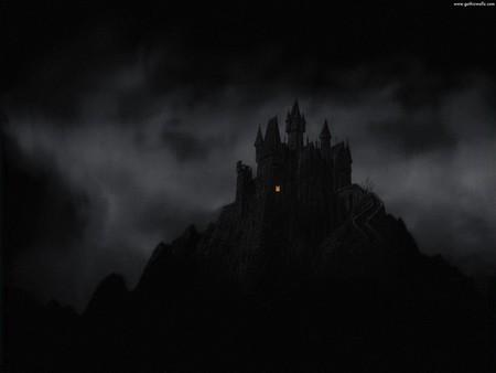Dark Gothic Castle - Fantasy & Abstract Background ...