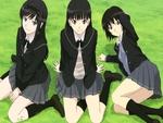 Girls at Grass