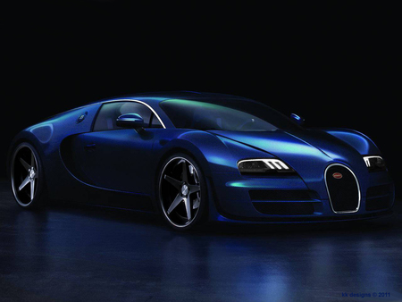 Bugatti Veyron Super Sport   TuNinG - kumar khan, kkvt, alloys, chrome bugatti, virtual tuning, bugatti super sport, k k designs, chrome, tuning, bugatti veyron, led, led lights
