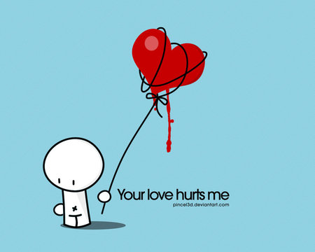 Love Hurts Other Abstract Background Wallpapers On Desktop Nexus