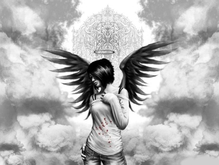 Angel - 3D and CG & Abstract Background Wallpapers on